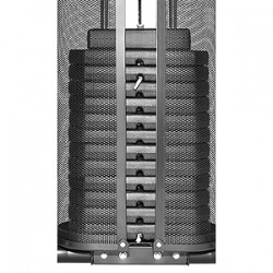 CHRISTOPEIT SPORT fitnesa stacija  Profi Center: Step+Dips 60 kg de Luxe Black