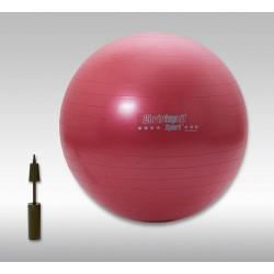 CHRISTOPEIT SPORT fitnesa bumba 65 cm/1.1 kg, sarkana