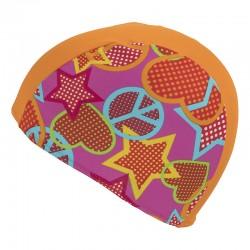 FASHY Bērnu auduma peldcepure krāsaina