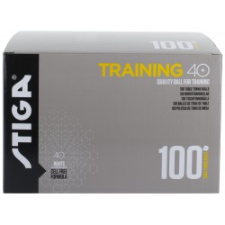 STIGA Galda tenisa bumbiņas TRAINING ABS 40+ baltas, 100gb. Iep.