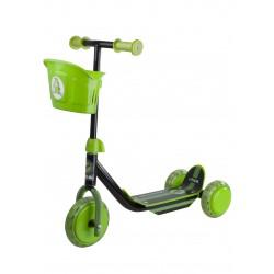 STIGA Bērnu 3 riteņu skūteris melns/zaļš