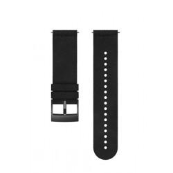 24 URB5 MICRFIBER STRAP BLACK/BLACK M
