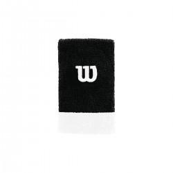 WILSON EXTRA WIDE WRISTBAND Bk/Wh/Wh OSFA uzroce