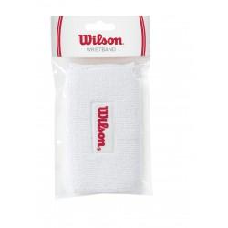 WILSON DBL WRISTBANDS WH uzroce