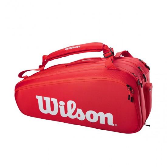 WILSON SOMA SUPER TOUR 15 PK RED