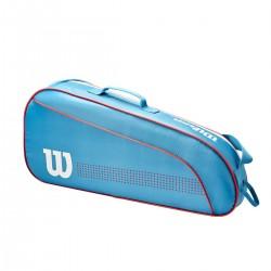 WILSON SPORTA SOMA JUNIOR 3 PK BLUE/WHITE/CORAL