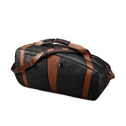 LEATHER 6 PACK BAG BK