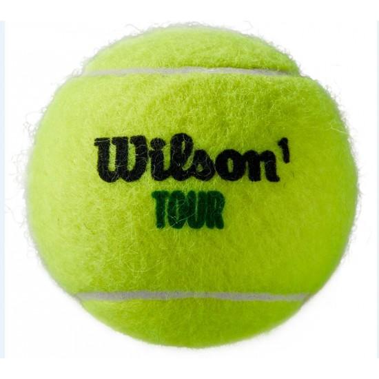 WILSON TOUR PREMIER ALL COURT TENISA BUMBIŅAS ( 4 BUMBU TUBS )