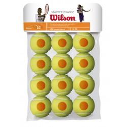 WILSON STARTER ORANGE BALLS ( 12 gb. )